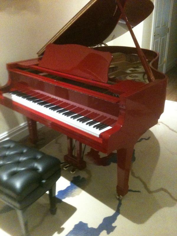 Red Grand Piano Related Keywords - Red Grand Piano Long ...
