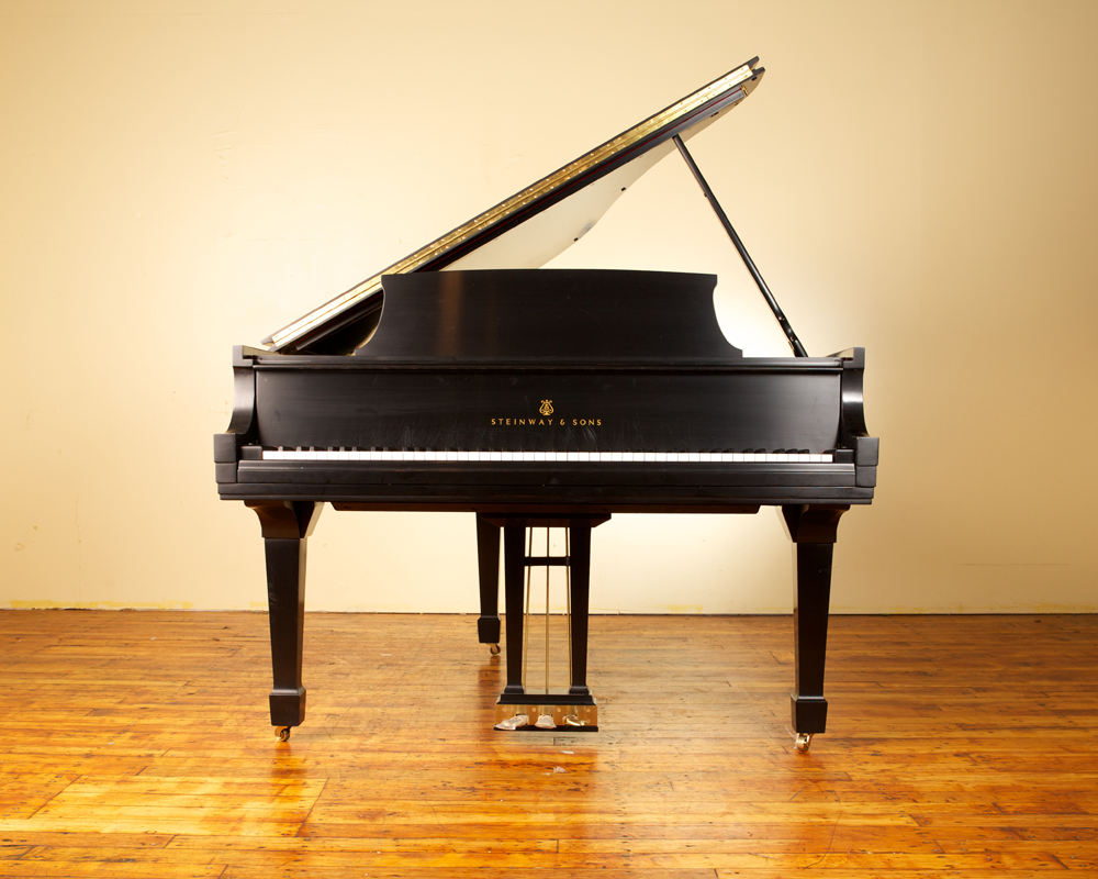 piano and steinway This 1917 steinway & sons model a-3 grand piano has been fully restored and refinished featuring a fully rebuilt belly, action and a new satin ebony finish, this.