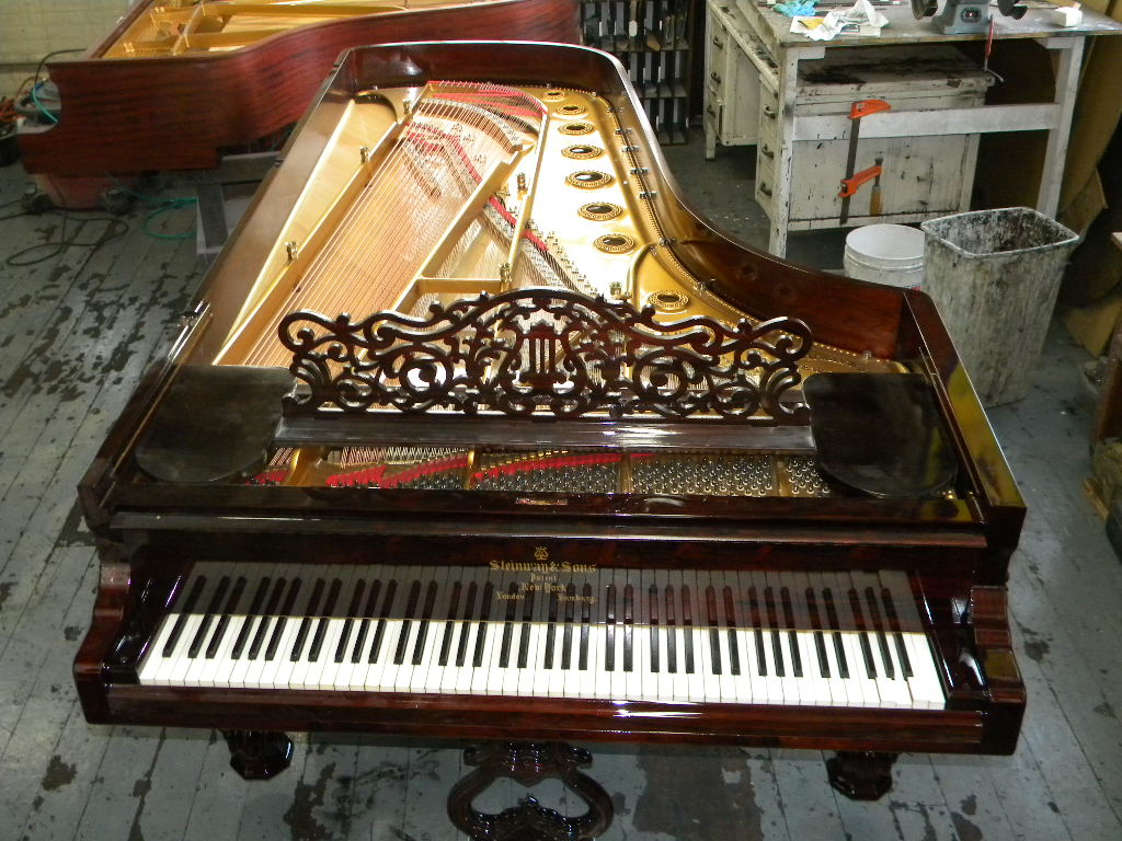 craftsman piano steinway